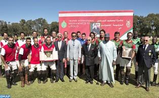 SAR el Príncipe Moulay Rachid preside en Rabat la final de la III edición del Trofeo Internacional Mohammed VI de Polo