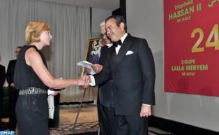 SAR el Príncipe Moulay Rachid preside en Rabat una cena ofrecida por SM el Rey en honor a los invitados de la 45ª edición del Trofeo Hassan II de Golf y la 24ª edición de la Copa de Golf Lalla Meryem