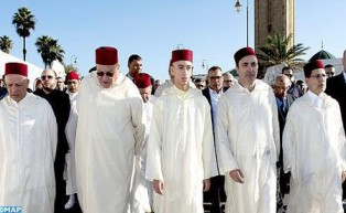 Poet Ali Skalli Hussaini Laid to Rest in Rabat in Presence of HRH Crown Prince Moulay El Hassan