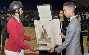 El Jadida Horse Fair: HRH Crown Prince Moulay El Hassan Chairs Awarding Ceremony of HM King Mohammed VI Show Jumping Grand Prix