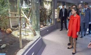 صاحبة السمو الملكي الأميرة للا خديجة تترأس حفل تدشين رواق الزواحف الإفريقية بحديقة الحيوانات بالرباط