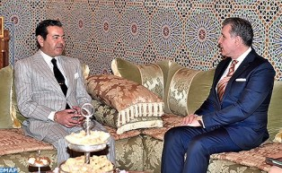HRH Prince Moulay Rachid Receives HRH Prince Radu of Romania