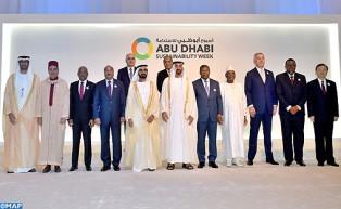 صاحب السمو الملكي الأمير مولاي رشيد يمثل جلالة الملك في حفل افتتاح أسبوع أبوظبي للاستدامة