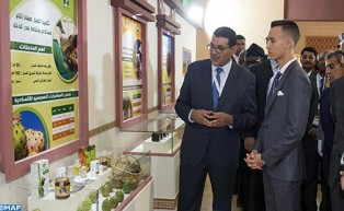 صاحب السمو الملكي ولي العهد الأمير مولاي الحسن يترأس بمكناس افتتاح الدورة الـ14 للمعرض الدولي للفلاحة بالمغرب