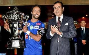 SAR el Príncipe Moulay Rachid preside en Rabat la final de la Copa del Trono de Fútbol, temporada 2016-2017