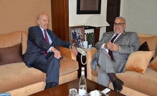 Le Chef du gouvernement s'entretient avec le maire de la ville de Bordeaux