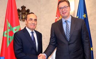 El Malki representa a SM el Rey en la investidura del nuevo presidente de la República de Serbia