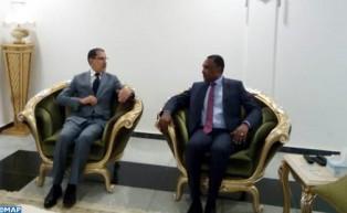 El Othmani se entrevista en Nuakchot con su homólogo mauritano