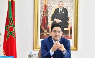 السيد بوريطة :جلالة الملك جعل من التضامن النشط للمغرب لفائدة البلدان الأقل نموا محورا رئيسيا في سياس
