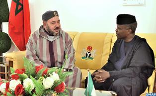 Visite officielle de Sa Majesté le Roi Mohammed VI au Nigeria