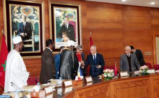 Maroc/Tchad : Signature à Rabat d'une convention de coopération islamique et d'un protocole d'accord sur la formation des imams