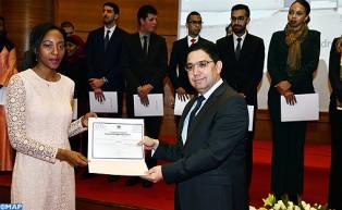 Remise de certificats à 54 lauréats de l'Académie marocaine des études diplomatiques