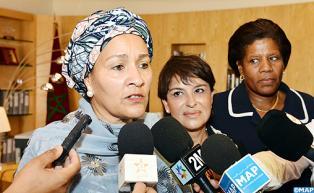 La ministre nigériane de l'Environnement en visite de travail au Maroc