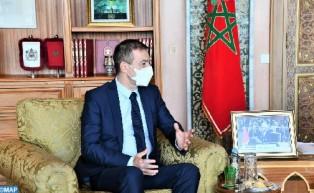 """Le Maroc, un partenaire """"très important"""" de l'UE"""