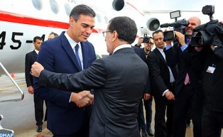 Spanish PM Arrives in Morocco for Working Visit