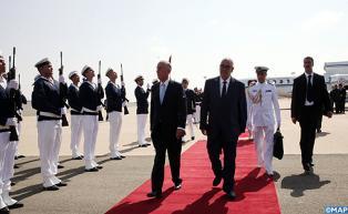 Le président portugais effectue une visite officielle au Maroc à l'invitation de SM le Roi