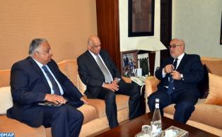 Le Chef du gouvernement s'entretient à Rabat avec le président de la Chambre des Représentants d'Egypte