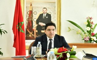 Morocco's FM Holds Talks with GCC Secretary-General