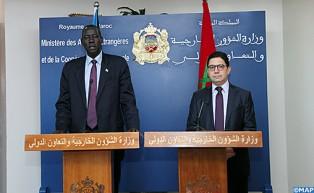 """Le Soudan du Sud est """"très compréhensif"""" de la position du Maroc concernant la question du Sahara et soutient le rôle de l'ONU"""