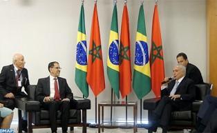 El jefe del Gobierno recibido en Brasilia por el presidente Michel Temer
