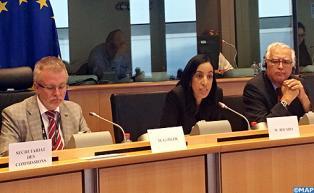 Mme Bouaida met en exergue à Bruxelles la politique migratoire du Maroc
