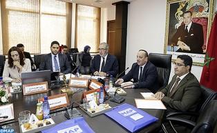 Le ministre de la Culture et de la Communication préside le Conseil d'administration de la MAP
