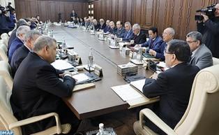 Réunion des travaux du Conseil de gouvernement le jeudi   21 mars 2019