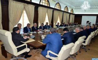Réunion des travaux  du Conseil de gouvernement  du jeudi 20 septembre   2018