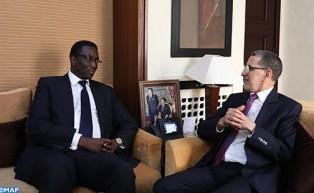 El jefe de gobierno se reúne con el ministro de Asuntos Exteriores de Senegal