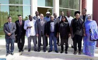 Una delegación parlamentaria nigeriana aplaude el desarrollo que experimentan las provincias del sur