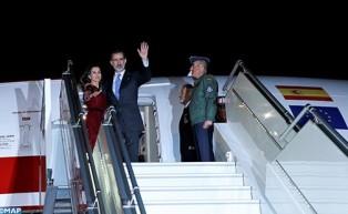 Fin de la visite au Maroc de Sa Majesté le Roi Felipe VI d'Espagne et la Reine Dona Letizia