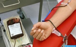 انطلاق قافلة التبرع بالدم