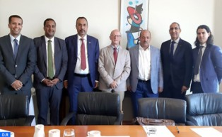 Sáhara marroquí: Representantes de las provincias del sur se entrevistan en Wexford con altos responsables irlandeses