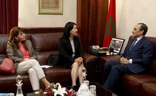 رئيس مجلس النواب يتباحث مع سفيرة المكسيك بالرباط