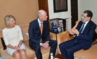 El Othmani y el ministro neerlandés de Exteriores examinan los medios de impulsar la asociación fructífera entre los actores económicos de los dos países