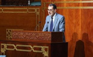 الجلسة الشهرية بمجلس المستشارين: رئيس الحكومة يجيب على أسئلة المستشارين  حول السياسة العامة للحكومة