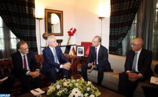 Le président du Bundesrat en visite de travail au Maroc