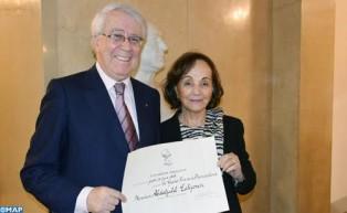 السيد عبد الجليل الحجمري يتسلم بباريس الجائزة الكبرى للفرنكوفونية التي تمنحها الأكاديمية الفرنسية