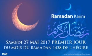 Le mois sacré du Ramadan débute le samedi 27 mai au Maroc