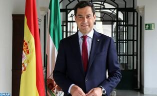رئيس حكومة إقليم الأندلس يؤكد استعداد حكومته لتعميق التعاون مع المغرب في المجال الثقافي