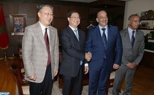 السيد الأعرج يبحث مع نائب رئيس جمعية الصحفيين الصينيين سبل تعزيز العلاقات الثنائية في المجال الإعلامي