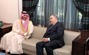 El ministro del Interior se entrevista en Rabat con su homólogo saudí