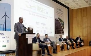 """Ouverture à Rabat de la 6-ème édition de la Conférence internationale sur les énergies renouvelables et durables """"IRSEC'18"""""""