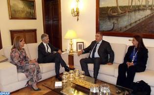 Laftit se entrevista en Madrid con el ministro español del Interior