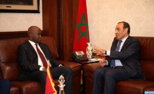 M. El Malki s'entretient avec le secrétaire d'Etat rwandais chargé de la Communauté de l'Afrique de l'Est