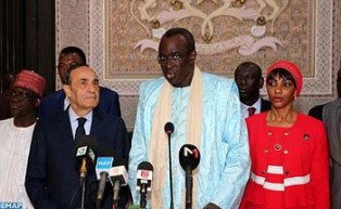 The Officail Visit of ECOWAS Parliament Speaker to Morocco