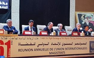 مراكش:انطلاق أشغال المؤتمر الدولي للقضاة في نسخته ال61