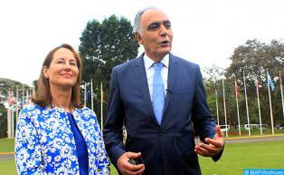 Mme Royal et M. Mezouar appellent à une ratification rapide de l'Accord de Paris pour le climat