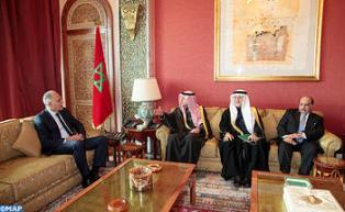 Le ministre saoudien des Affaires Etrangères en visite de travail au Maroc