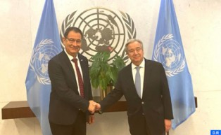 UCLG President Mohamed Boudra Received in New York by UN Chief